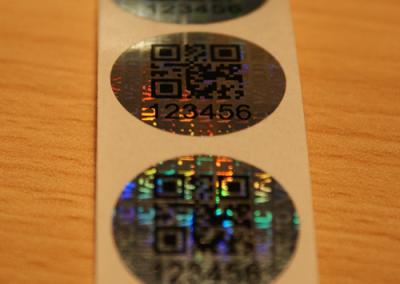 Hologram matrica